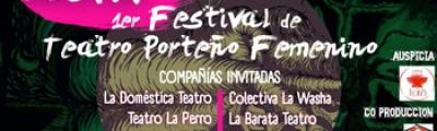 """Festival """"GESTA"""" en Gimnasio de las Artes: Teatro sobre mujeres y hecho por mujeres"""